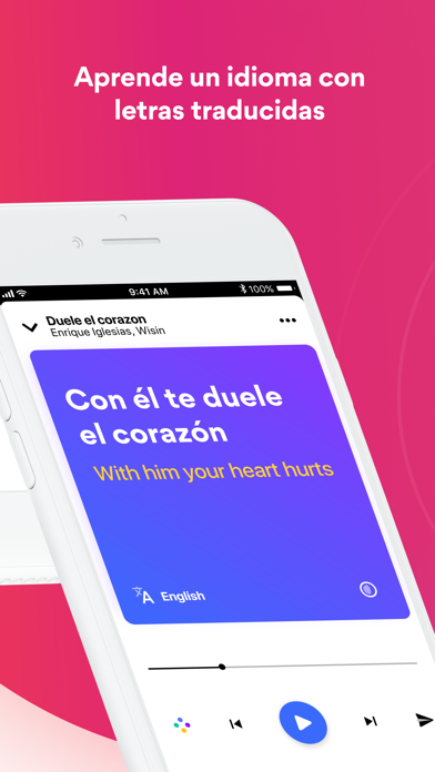 Screenshot for Musixmatch in Chile App Store