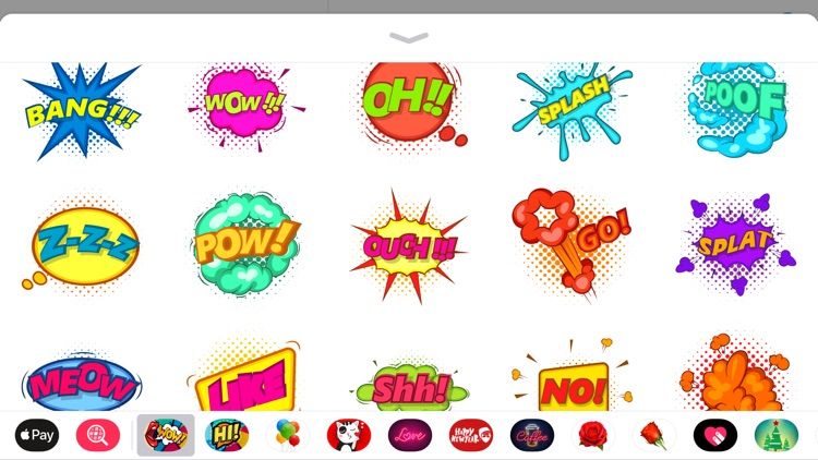 Best Comics Blast Sticker Pack