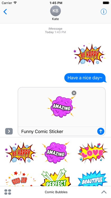 Animated Comic Speech Bubbles Pack Collection