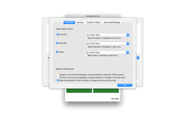 sync google apps with outlook 2011 mac