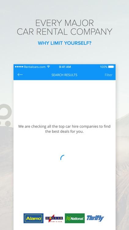 Rentalcars.com Car rental App screenshot-4