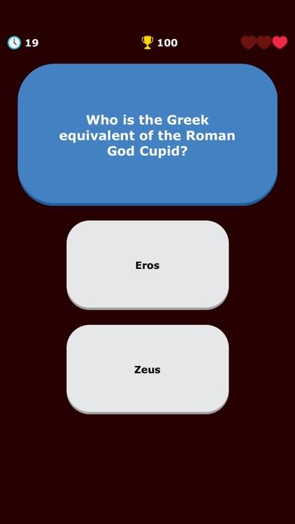 Greek Mythology Quiz - Greece screenshot-7