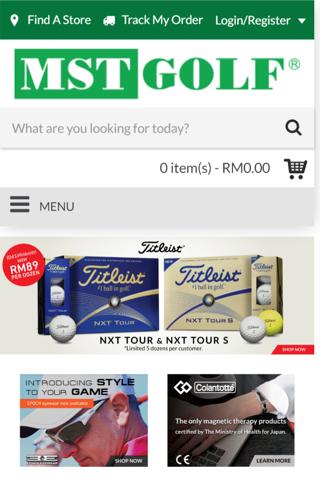 MST Golf - náhled