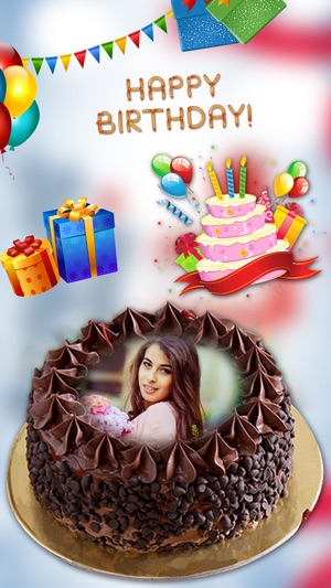 Name On Birthday Cake Photo The App Store