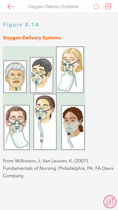 Davis Clinical Nursing Skills Screenshot