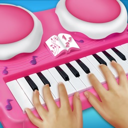 Girly Pink Piano Simulator