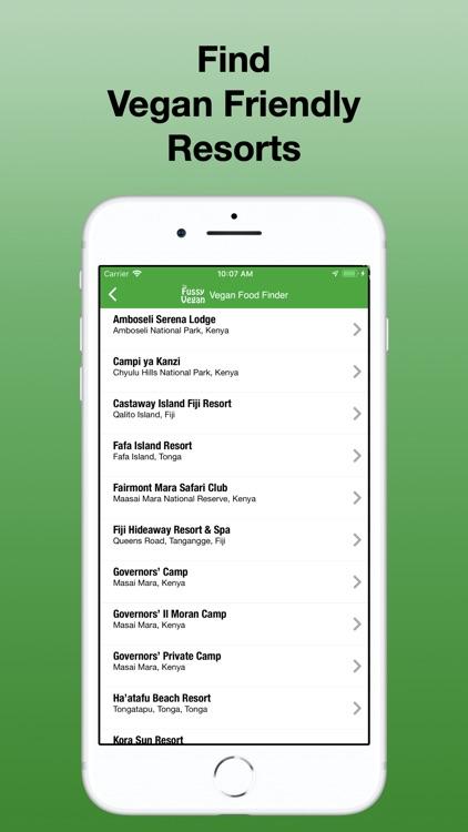Fussy Vegan Food Finder screenshot-5