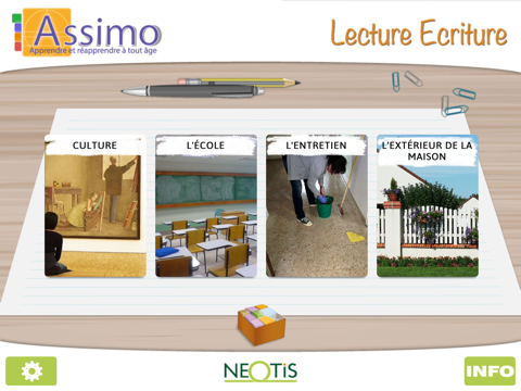 ASSIMO Touch Lecture Ecriture - náhled