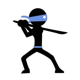 Stickman Ninja-cool parkour