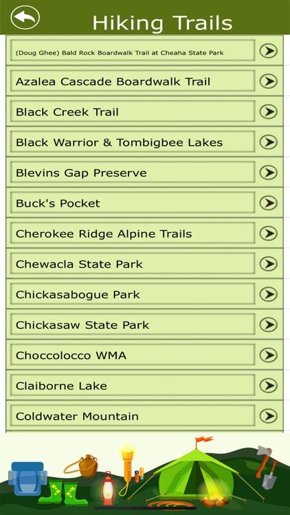 Alabama Campgrounds & Trails screenshot-4