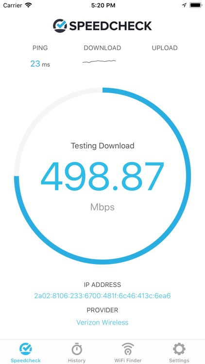 Speedcheck Internet Speed Test