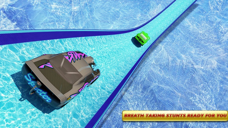 Mega Ramp Ice Racing Car Stunt screenshot-4