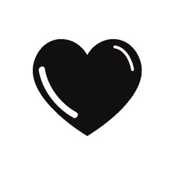 Black hearts - stickers pack