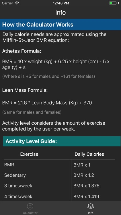 IIFYM Macro/Calorie Calculator screenshot-3