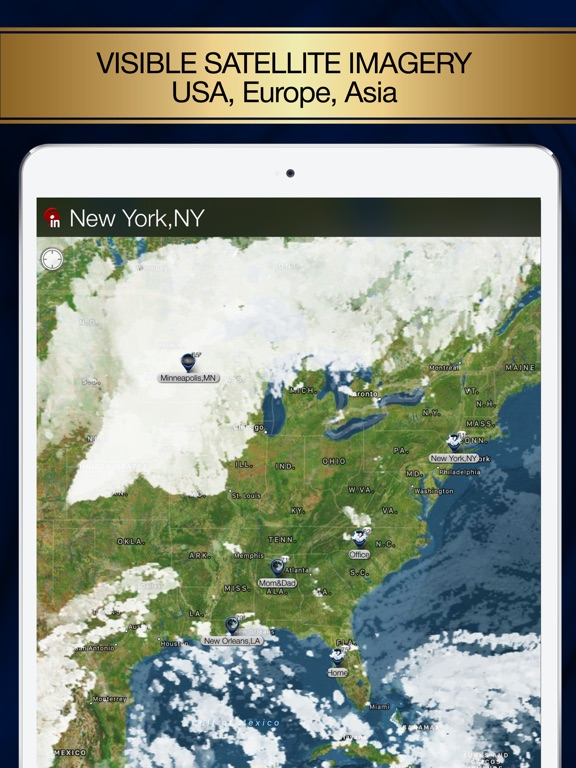 Radar MAX: NOAA Weather radar iPad