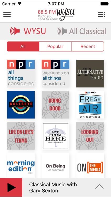 WYSU Public Radio App screenshot-3
