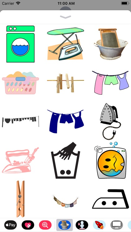 Lotsa Laundry Stickers screenshot-0