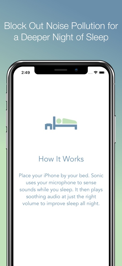 Appsgonefree: [iPad] Sonic Sleep Coach Alarm Clock (99c to