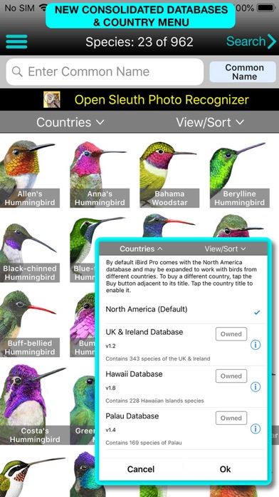 iBird Pro Guide to Birds Screenshot