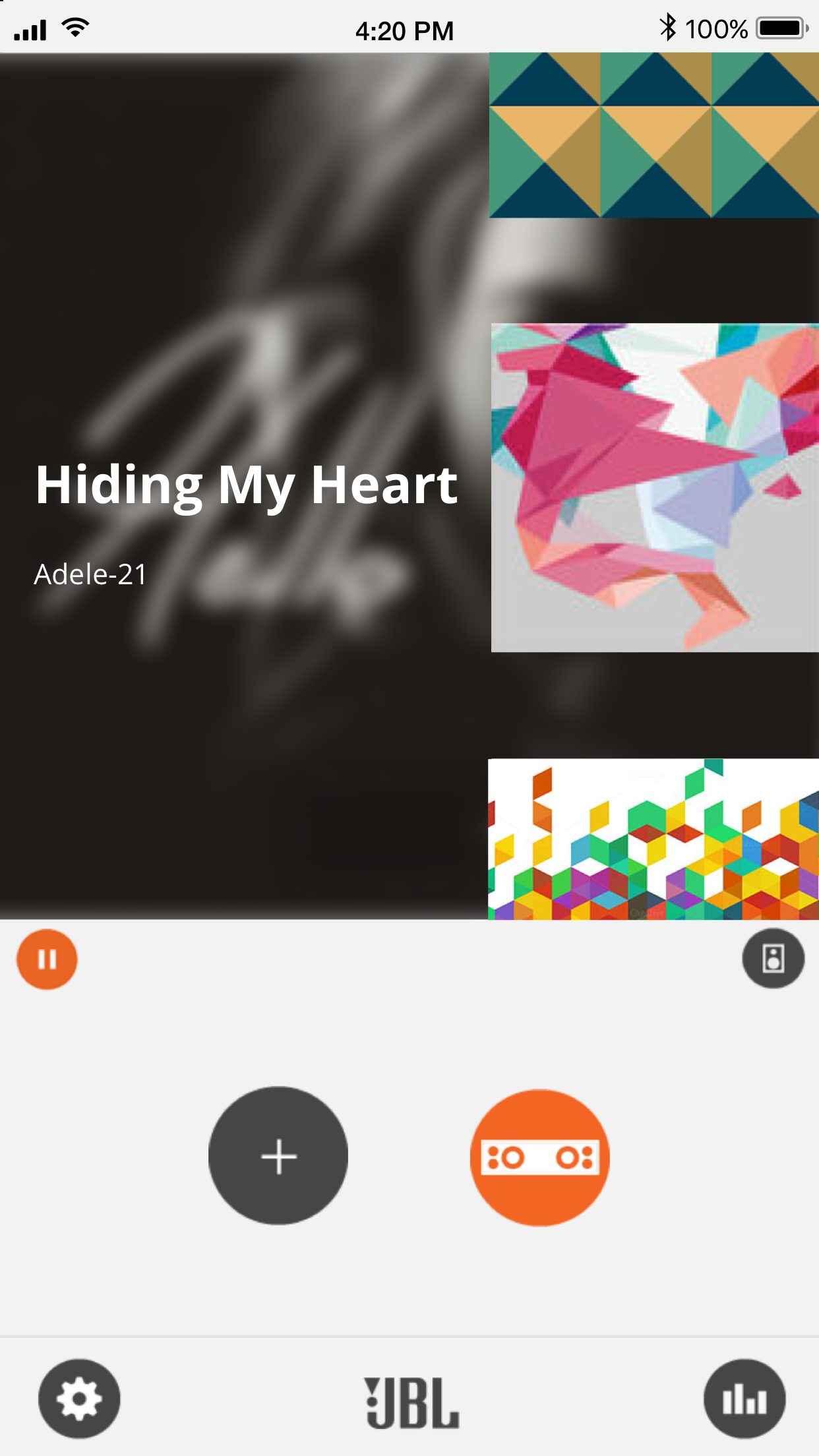 JBL Music Screenshot
