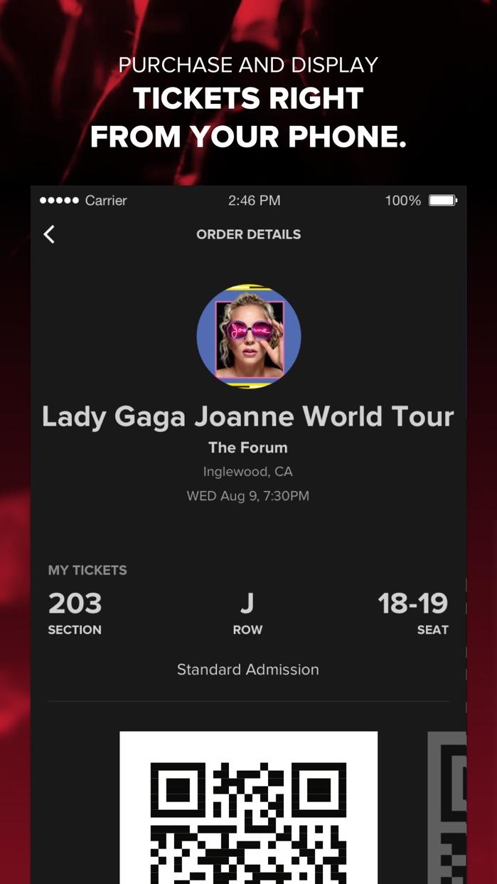 Live Nation – For Concert Fans Screenshot