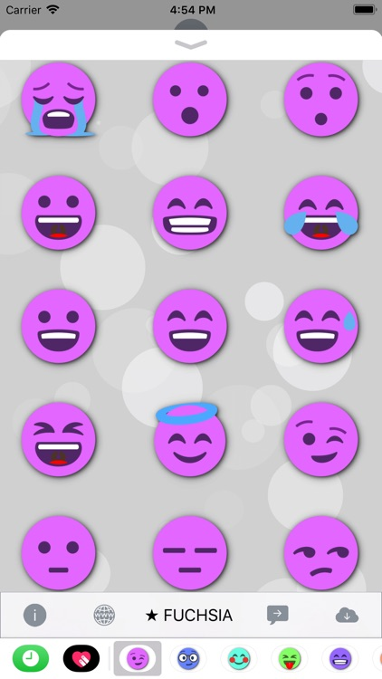 FUCHSIA Emoji • Stickers
