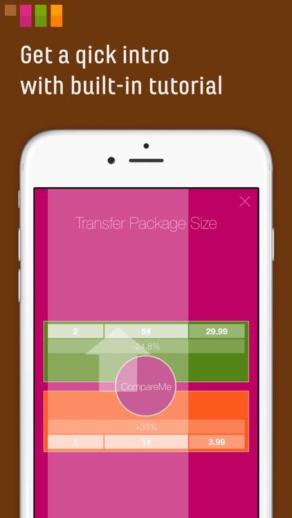 CompareMe Shopping Calculator screenshot-3