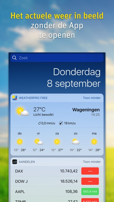 WeatherPro Lite på PC