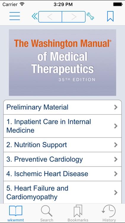 Washington Manual Med. Therap.