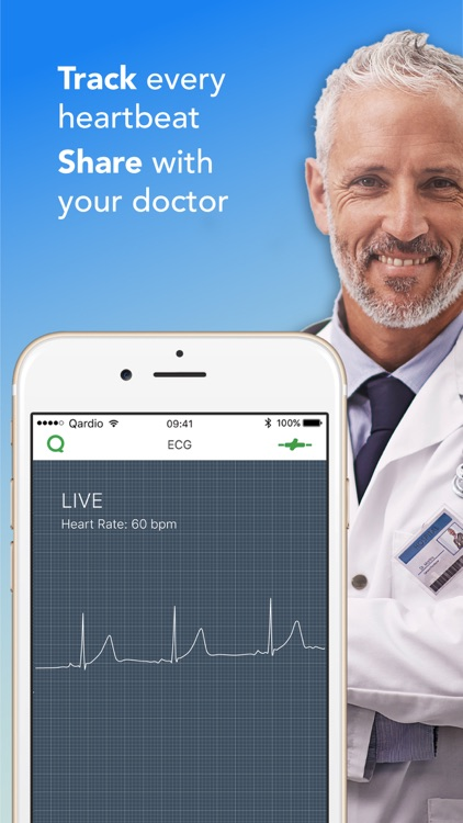 Qardio heart health screenshot-3