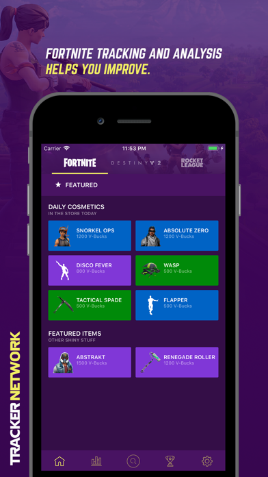 Tracker Network for Fortnite by Tracker Network (iOS, United