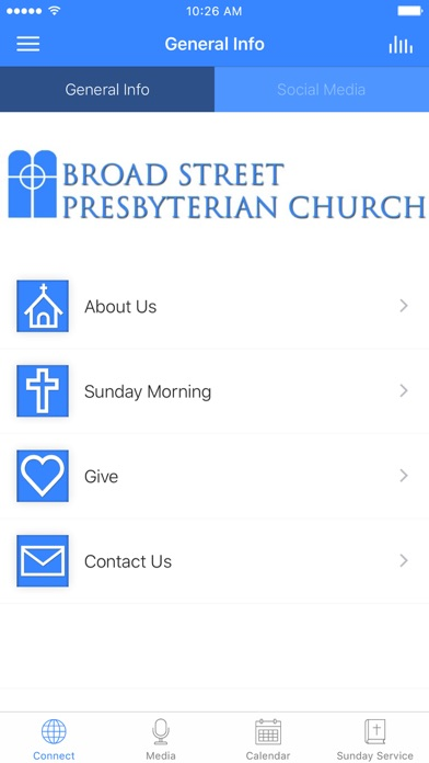 Broad Street Presbyterian screenshot 1