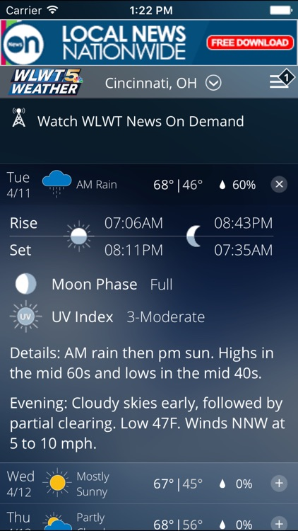 WLWT Weather screenshot-2