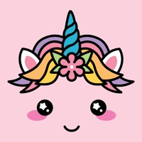 Cute Unicorn Kawaii Stickers App Ipod Iphone Ipad And