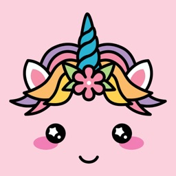 Cute Unicorn Kawaii Stickers
