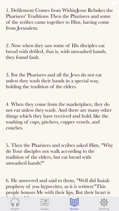 NKJV Bible (Audio & Book) by Li ying (iOS, United States