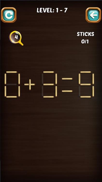 Math Stick Match Puzzle screenshot-3