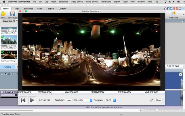 videopad editor free download mac