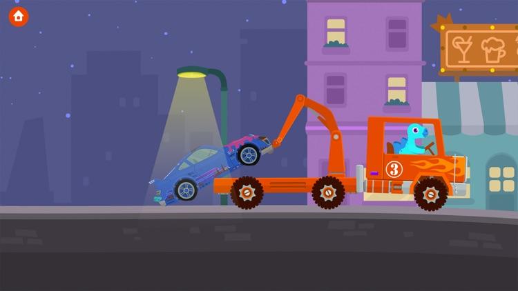 Dinosaur Rescue - Truck Games screenshot-4