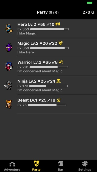 Screenshot of Hero never dies App