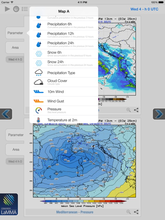 Atmosphere WRF for iPad screenshot-2