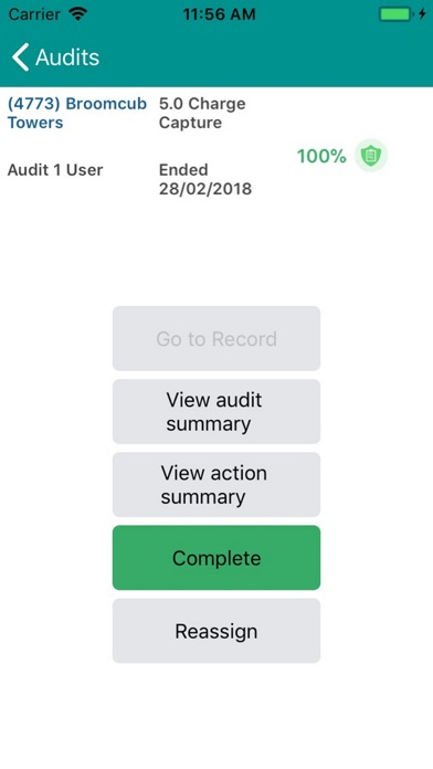 MyAudit Screenshot