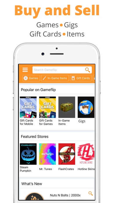 Download Gameflip - Buy & Sell for Pc