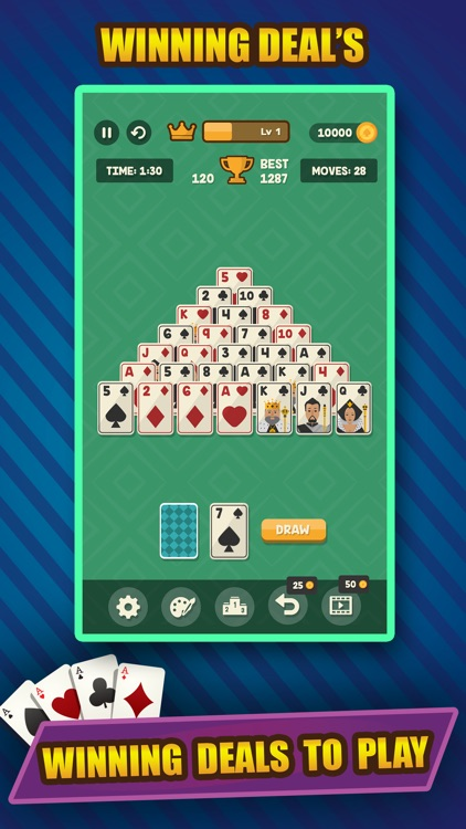 Classic Solitaire Pyramid screenshot-5