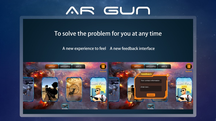AR Gun - AR Gun Game Library screenshot-3