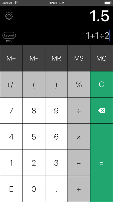 Calculator Pro Eliteのおすすめ画像4