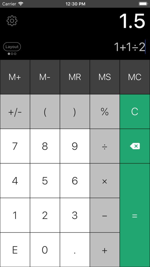 Calculator Pro Elite App 截图