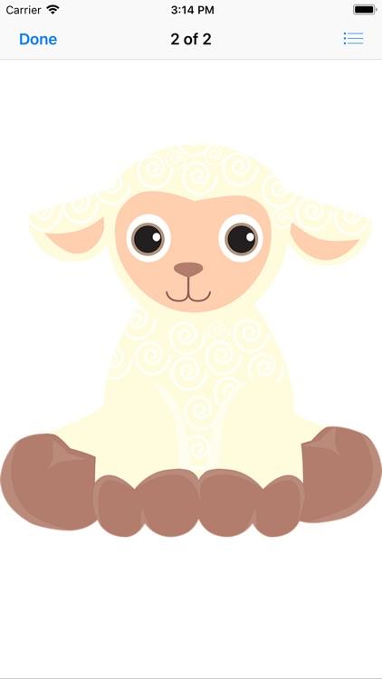 Lamb Sticker Pack screenshot-4