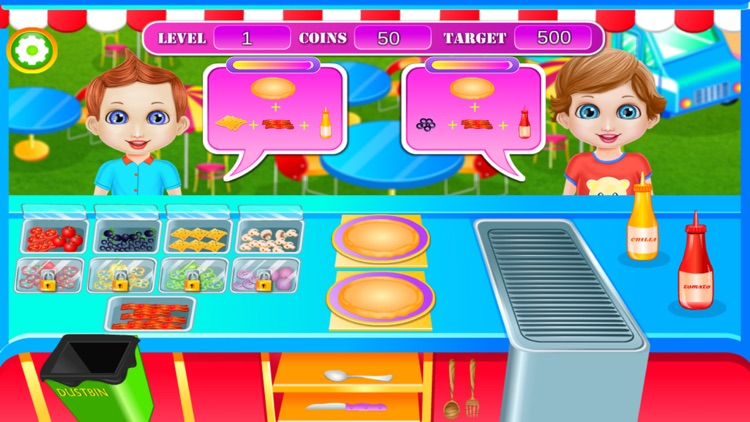 Street Food Kitchen Chef screenshot-3