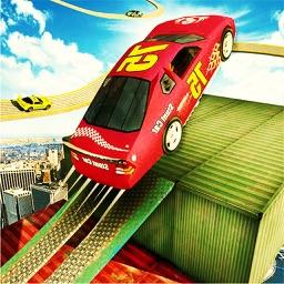 Amazing Car Stunt Race Games 2